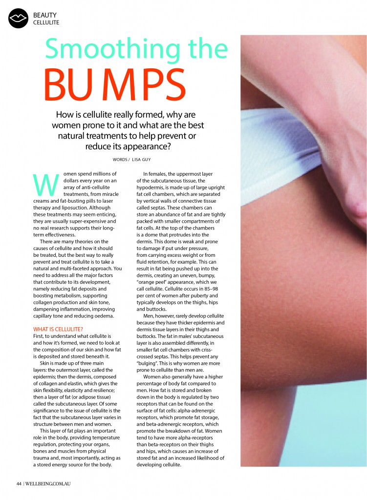 wellbeing issue 159 Cellulite P1