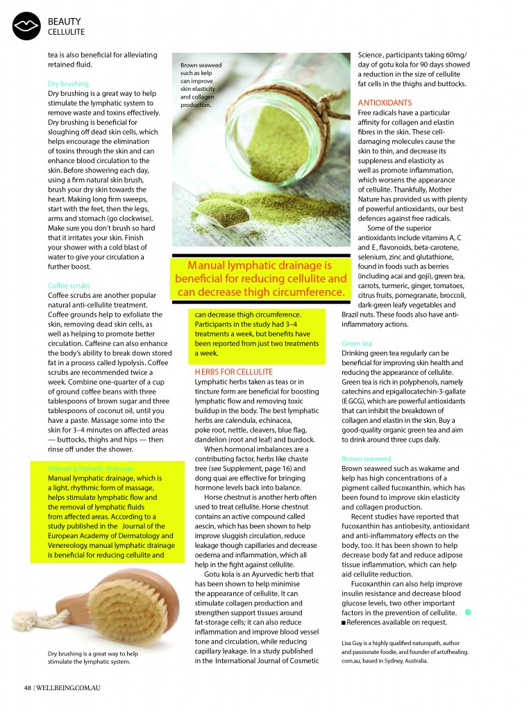 wellbeing issue 159 Cellulite P4